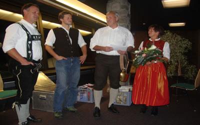 Verabschiedung Albert Titscher | Die Rechtler