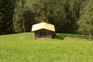 Dacherneuerung Buindeggstadel